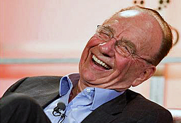 Image result for rupert murdoch laughing