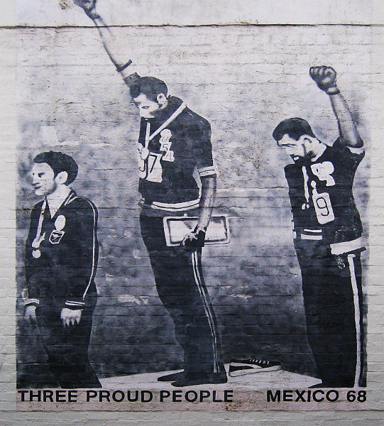 Peter Norman & The Smith/Carlos Black Power Salute