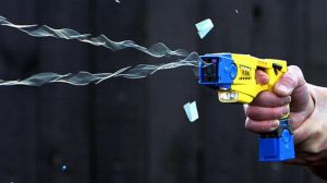 A Taser Being Fired