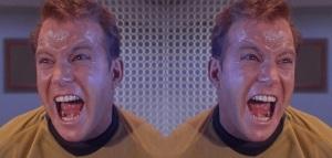 Captain Kirk Is Vewy Angwy