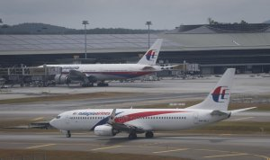 MH370 - A picture of an aeroplane