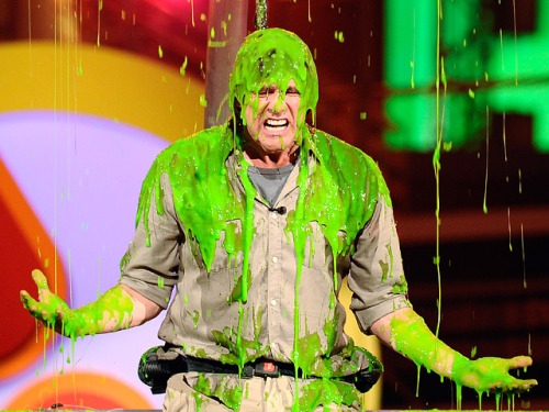 Nickelodeon Slime Jim Carrey | The Big Blog of All the Shit I Know