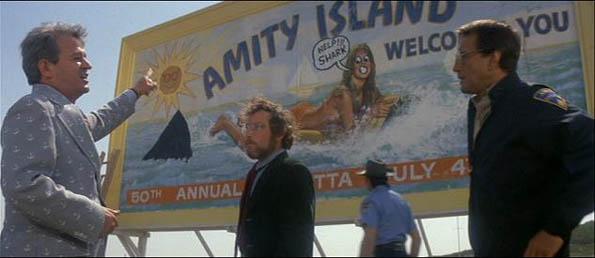 amity beach sign
