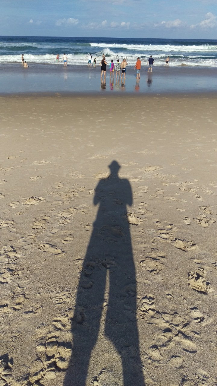 Self Portrait on The Gold Coast